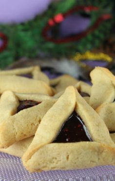 Peanut Butter and Jelly Hamentaschen for Purim