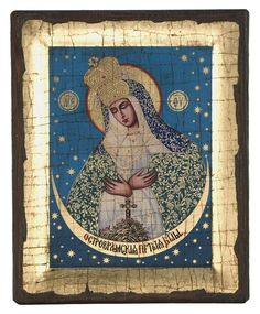 Virgin Mary Praying (Engraved old - looking icon - S-EW Series) Byzantine Art, Byzantine Icons, Christ Pantocrator, Russian Icons, Christian Religions, Client Gifts, Gold Background, Religious Icons, Orthodox Icons