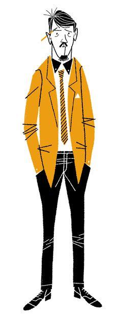 Artist Klas Fahlen at Illustration Division