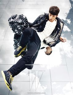Beast, W Korea October 2012 Yoon Doo Joon, W Korea, So Ji Sub, Athletic Gear, Korean Men, Asian Boys, Bigbang, Editorial Fashion, Beast