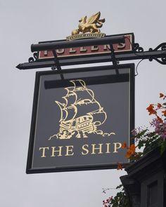 Pub Sign Art a la cARTe: The Ship, New Cavendish Street, London W1