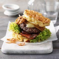 Rezept: Spätzle-Burger
