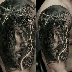 50 Tatuagens de Jesus Cristo: Braço, Costas, Barriga, Perna, Coxa!