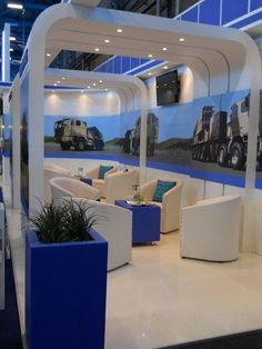 Africa Aerospace Show 2012 - Custom designed exhibition stand by Ruby Original - rubyoriginal.co.za