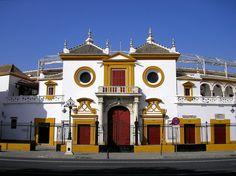 Plaza de Toros, Sevilla, Spain by Luis Jacome.