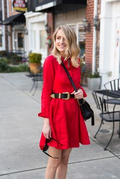 Little Blonde Book by Taylor Morgan | A Life and Style Blog : Red Dress