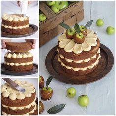 Autumn Weekend Baking Challenge: Toffee Apple #LoveLayerCakes #SeasonalBakes #Yum