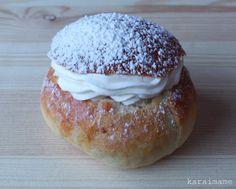 Laskiaispulla - Shrove Tuesday sweet buns by karaimame, via Flickr