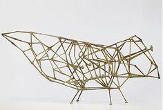 Sculpture by Harry Bertoia, USA, 1953,