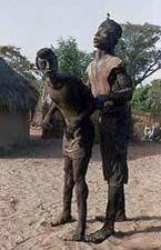Ousmane Sow, African Artists, Les Oeuvres, Bodies, Garden Sculpture, Sculptures, Mac, Outdoor, Pont Des Arts