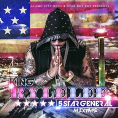 King Kyle Lee mixtape cover for 5 star general, photography done by Julia Pizano