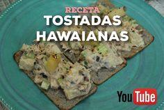 """NutriReceta: """"Tosadas Hawaianas de atún"""" (Nutrivera)"""