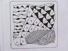 zentangle by Nancy Dom