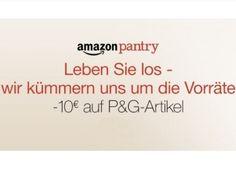 """Amazon Pantry: 10 Euro Rabatt auf Artikel von Procter & Gamble https://www.discountfan.de/artikel/technik_und_haushalt/amazon-pantry-10-euro-rabatt-auf-artikel-von-procter-gamble.php Ab sofort und nur bis zum 8. Juli 2016 gibt es via Amazon Pantry einen Rabatt von zehn Euro auf Artikel von """"Procter & Gamble"""", wenn der Bestellwert bei mindestens 25 Euro liegt und man Prime-Kunde ist. Ab 29 Euro Warenwert erfolgt die Lieferung frei Haus, ab 30 Euro gibt es noc"""