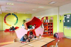 Family Services School en Berlín es uno de los proyectos del estudio de arquitectura The Baupiloten