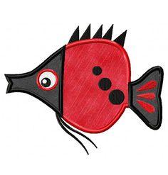 sweet fish-  EmbroiderOcean Design