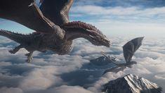 Dragon 2, Fantasy Dragon, Fantasy Warrior, Game Of Thrones Dragons, Got Dragons, Mother Of Dragons, Weird Creatures, Fantasy Creatures, Mythical Creatures