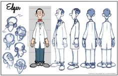 industry standard character design sheets - Google Search