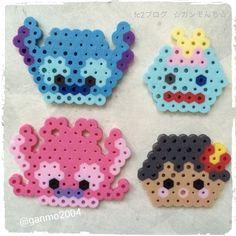 Tsum Tsum Lilo & Stitch perler beads