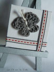 Papillons crochet