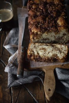 Apple Cinnamon Bread via Bakers Royale