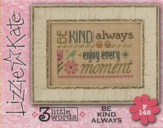 Lizzie Kate Flip-It Series - 3 Little Words - Be Kind Always – Stoney Creek Online Store