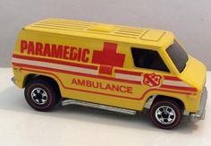 Hot Wheels Redline Ambulance Van