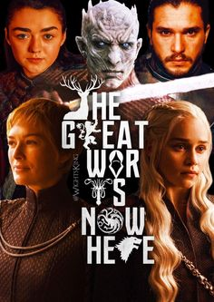 The Great War is now here, Game of Thrones.