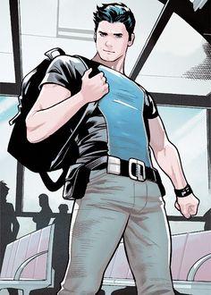 Dick Grayson (Agent 37) in Starfire #06 (2015)