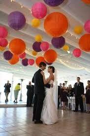 Resultado de imagen para decoracion con lamparas chinas para boda