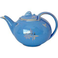 Hall Hook Cover Cadet Blue Standard Gold 0749 Teapot