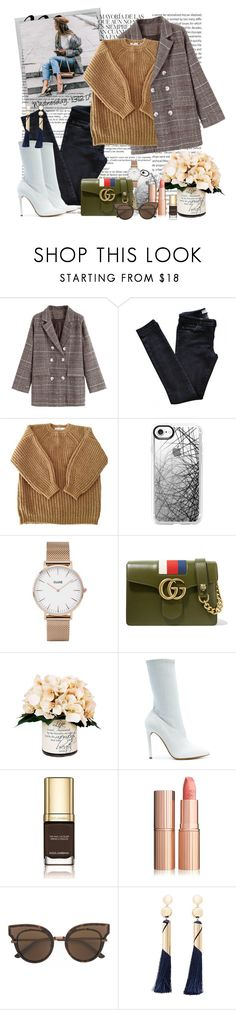 """Zero Inspiration for Set Title.."" by katartrina ❤ liked on Polyvore featuring Whiteley, Polaroid, Vanessa Bruno Athé, Étoile Isabel Marant, Casetify, CLUSE, Gucci, Creative Displays, Yeezy by Kanye West and Dolce&Gabbana"