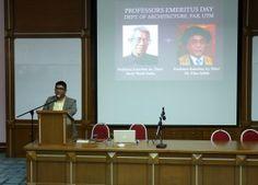Professors Emeritus Day, Department of Architecture