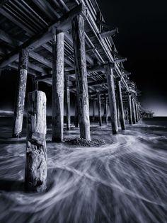Capitola Pier, by Mark Grzan