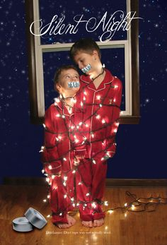 Silent Night! Christmas Card Picture Ideas - The Diary of a Real Housewife