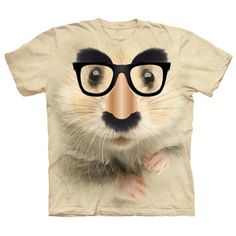 Big Face Hamster of Mystery T-Shirt