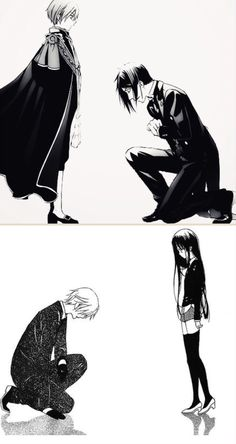 Kuroshitsuji and Inu x Boku SS|| The first thing I thought when I saw Kuroshitsuji was that Sebastian was a less annoying butler than Miketsukami (but I still love him)