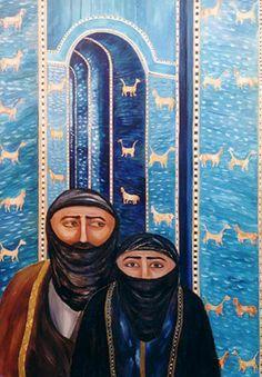 Iraqi Artist -  Alia AlWahab