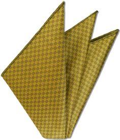 Thai Brocade Silk Pocket Square # 6