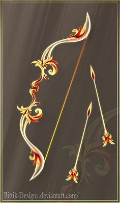 Phoenix Bow (CLOSED) by Rittik-Designs on DeviantArt