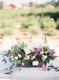 Photography : Jessica Burke | Event Planning + Design : Bustle Events | Floral Design : Twigss Floral Studio | Reception Venue : Farmstead At Long Meadow Ranch Read More on SMP: http://www.stylemepretty.com/2016/01/13/spring-napa-valley-wedding-with-floral-print-bridesmaids/