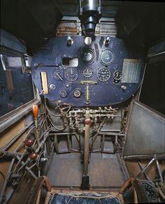 Spirit of St louis cockpit