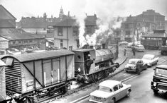 The golden age of steam: A train obsessive's photo collection of historic locomotives - Wales Online Steam Trains Uk, Life In The 1950s, Unseen Images, Holland, Steam Railway, British Rail, Old Trains, Swansea, Steam Engine