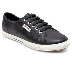 Women's Superga Low Top Sneakers - Black : Target