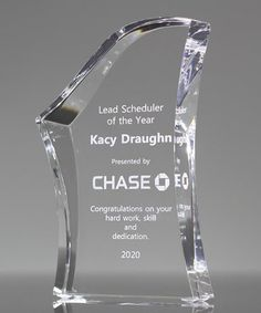 Choose our Employee Recognition Award to recognize outstanding performance. Constructed from thick acrylic, beveled and laser engraved with your custom message and company logo Recognition Awards, Employee Recognition, Acrylic Awards, Picture Design, State Art, Laser Engraving, Company Logo, Prints, Poster