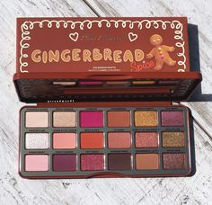 Also Faced Gingerbread Spice Holiday Eyeshadow Palette . - Also faced Gingerbread Spice Holiday Eyeshadow Palette # holidays - Makeup Dupes, Makeup Brands, Skin Makeup, Makeup Cosmetics, Best Makeup Products, Makeup Brushes, Beauty Products, Make Up Products, Stila Cosmetics