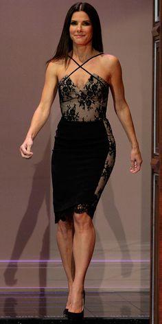 Sandra Bullock in Azzaro
