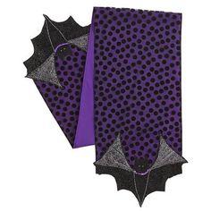Bat Applique Table Runner