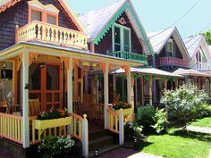 Oak Bluffs, MA Tiny House Row.