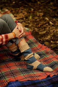 Cozy socks and Tartan blankets Autumn Day, Fall Winter, Autumn Harvest, Hello Autumn, Autumn Leaves, Fall Days, Cozy Winter, Winter White, Camp Trails